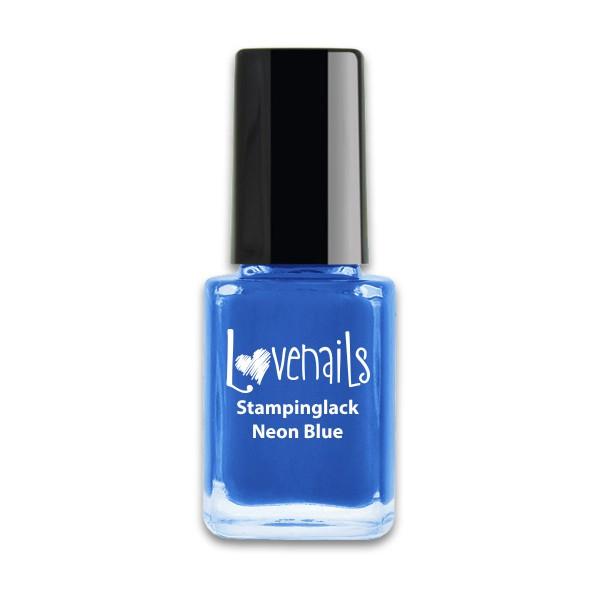 Lovenails Stamping Lack Neon Blue 12ml