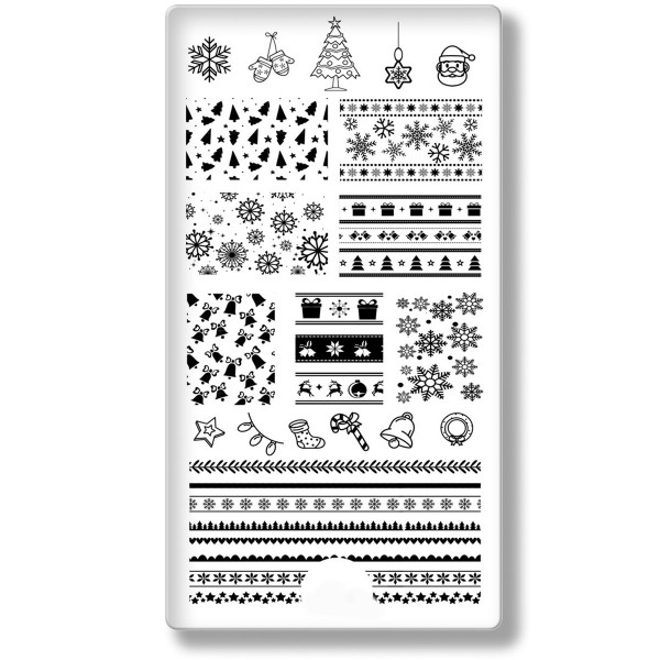 Stamping Schablone Xmas 21