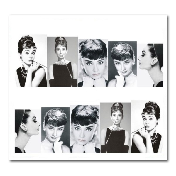 Nailart Tattoo Audrey Hepburn 2