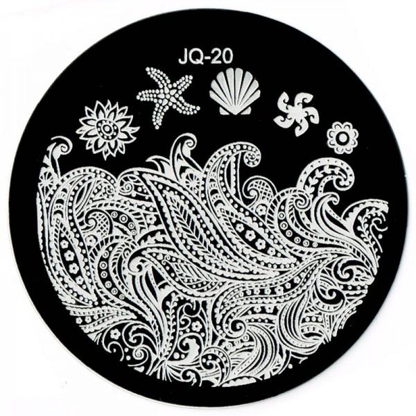 Stamping Schablone JQ-20