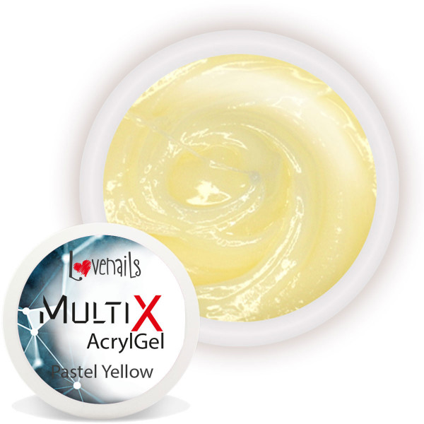 Multi-X AcrylGel Pastel Yellow 15ml