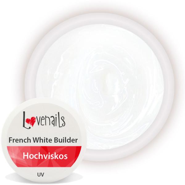 French White Builder Gel für den Aufbau