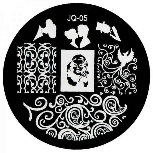 Stamping Schablone JQ-05