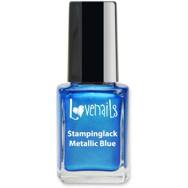 Stamping Lack Metallic Blue 12ml