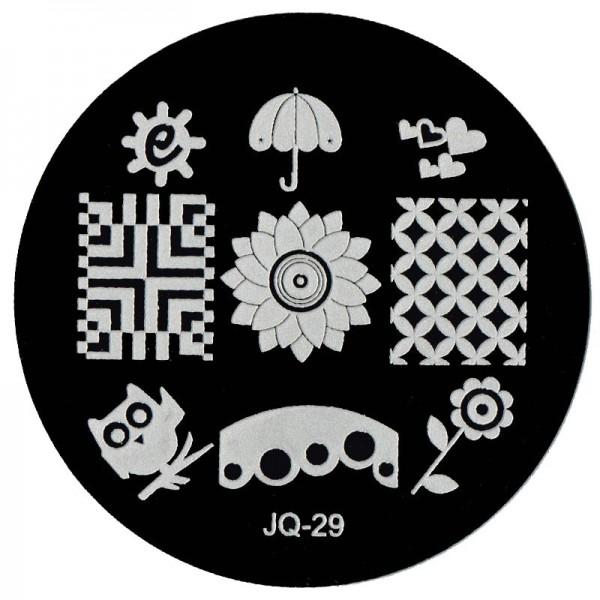 Stamping Schablone JQ-29
