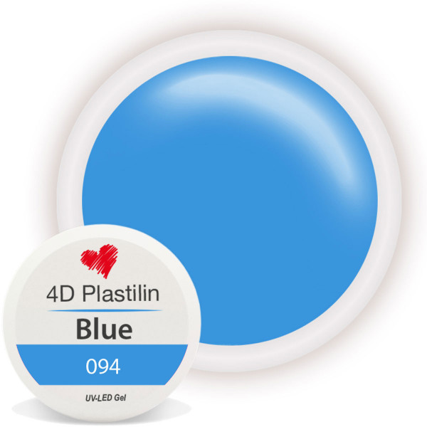 4D Plastilin Gel 094 Blue