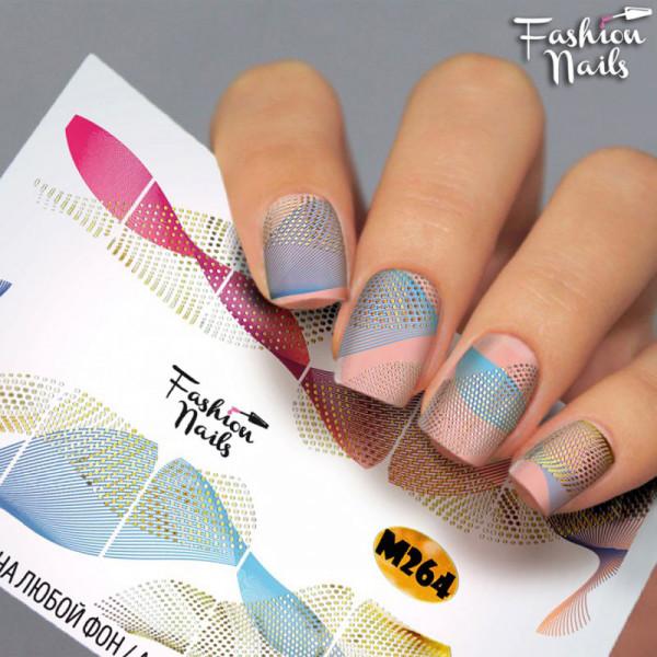 Metallic Slider 264 von Fashion Nails