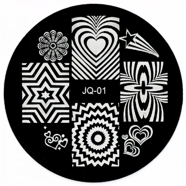 Stamping Schablone JQ-01