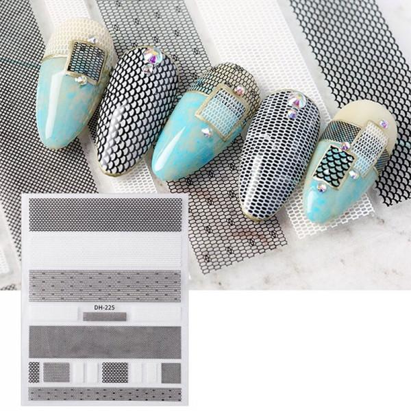 FischNetz Nail Sticker naildesign