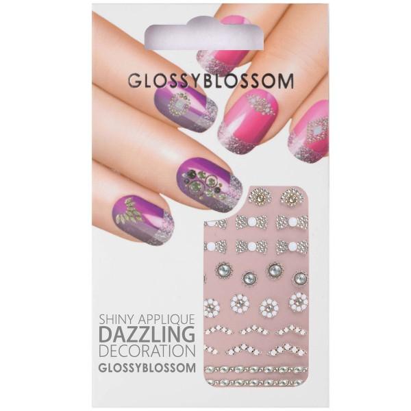 Glossy Blossom Nail Sticker 21