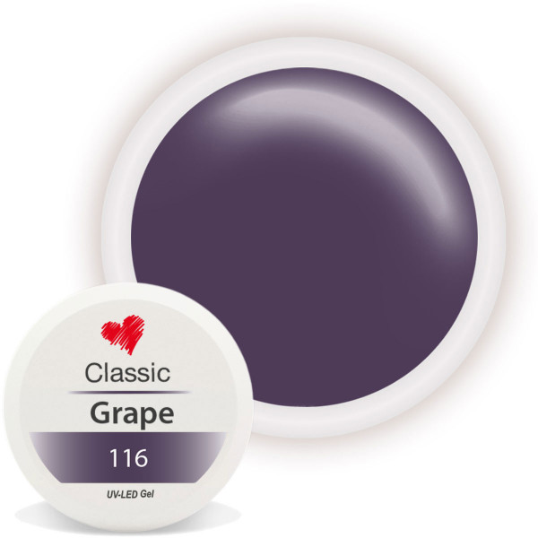 Classic Farbgel Grape Lila