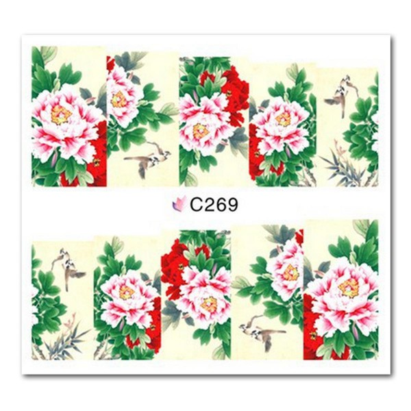 Nailart Tattoo Blume Nr. 19