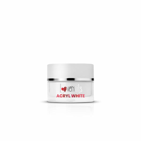 Acryl Puder White 12g