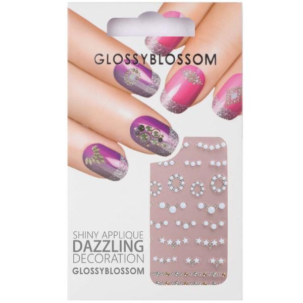 Glossy Blossom Nail Sticker 24