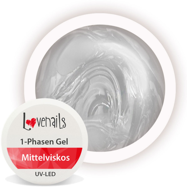 1-Phasen Gel 15ml Mittelviskos