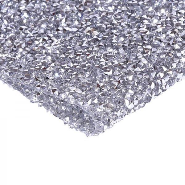 Strass Unterlager Silber Nailart Arbeitsunterlage