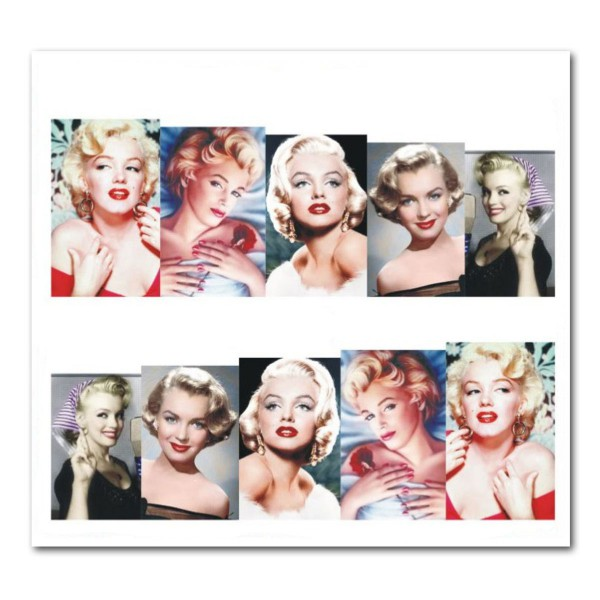 Nailart Tattoo Marilyn Monroe 10