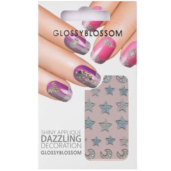 Glossy Blossom Nail Sticker 13