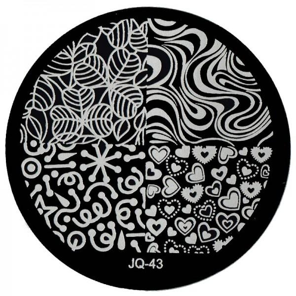 Stamping Schablone JQ-43