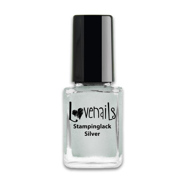 Lovenails Stamping Lack Silver 12ml