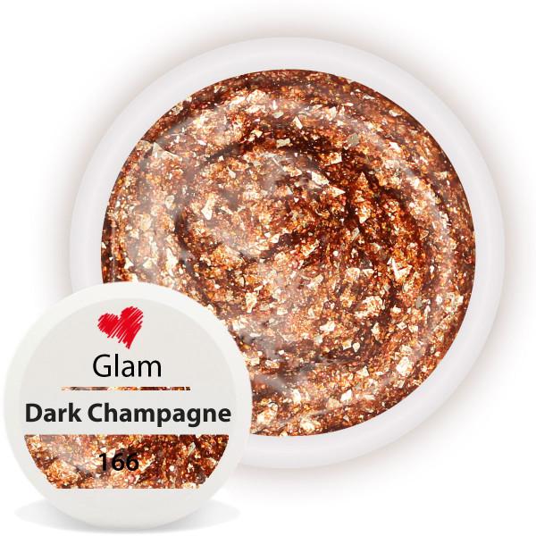 Chrome Glam Farbgel für luxuriöse Nägel