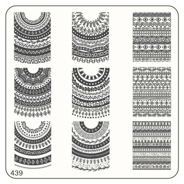MoYou Nails Schablone Ethnic Style 439