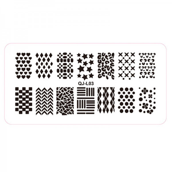 Stamping Schablone QJ-L03