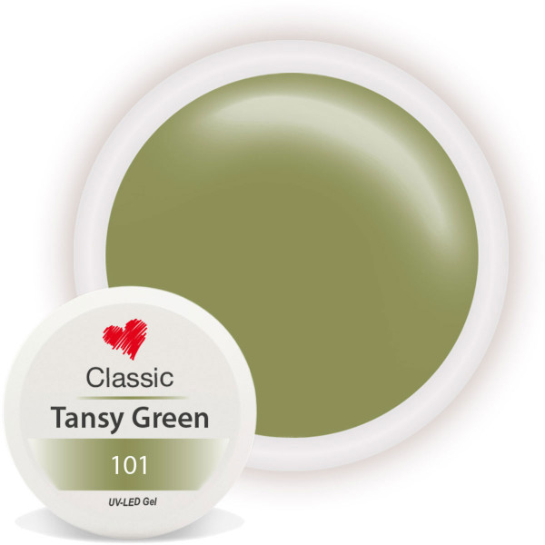 Classic Farbgel Tansy Green Herbst Nailart