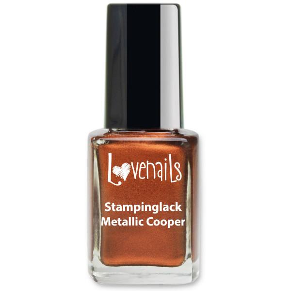 Stamping Lack Metallic Cooper 12ml