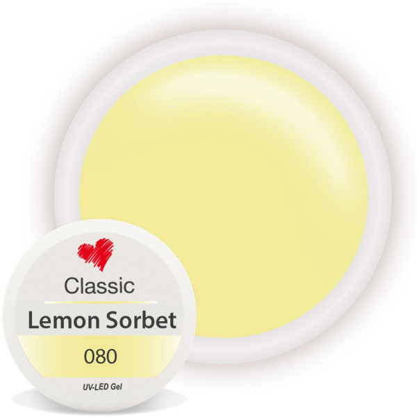 Classic Farbgel 080 Lemon Sorbet 5ml
