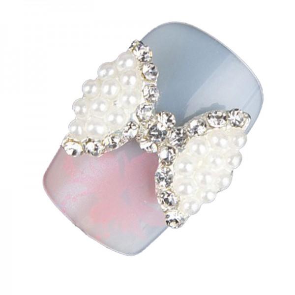 Overlay 52 Schleife Perlen