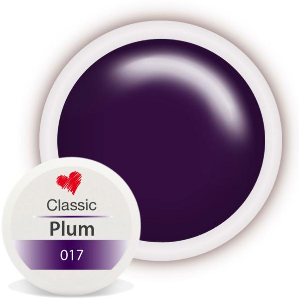 Classic Farbgel 017 Plum 5ml