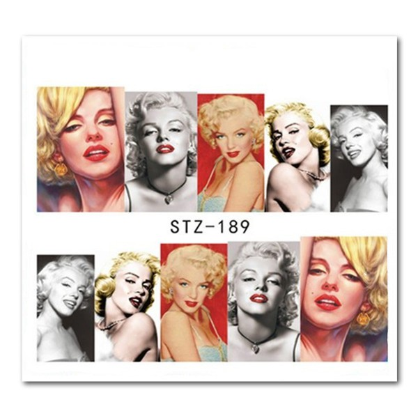 Nailart Tattoo Marilyn Monroe 4
