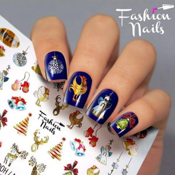 Xmas Slider Metallic 172 von Fashion Nails