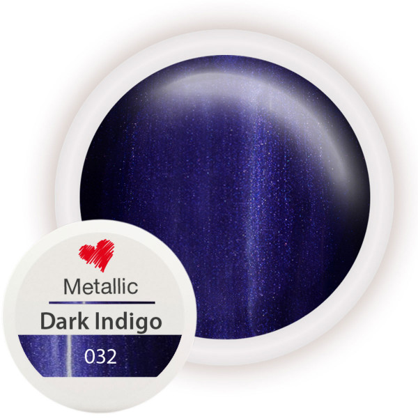 Metallic Farbgel 032 Dark Indigo 5ml