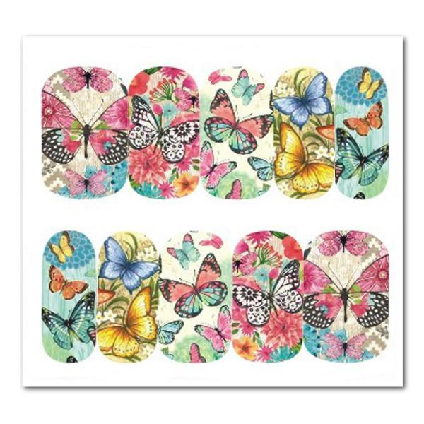 Nailart Tattoo Schmetterling Nr. 9