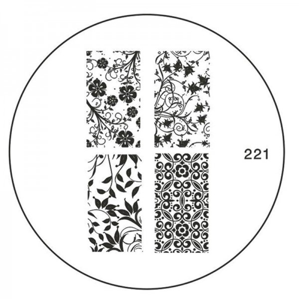 MoYou Nails Schablone 221