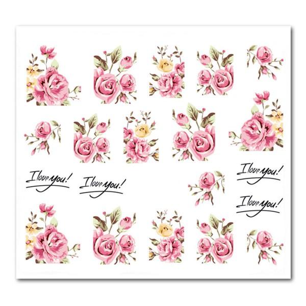 Nailart Tattoo Blume Nr. 62