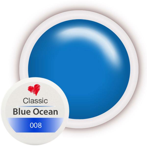 Classic Farbgel 008 Blue Ocean 5ml