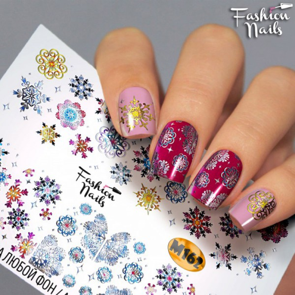 Xmas Slider Metallic 162 von Fashion Nails