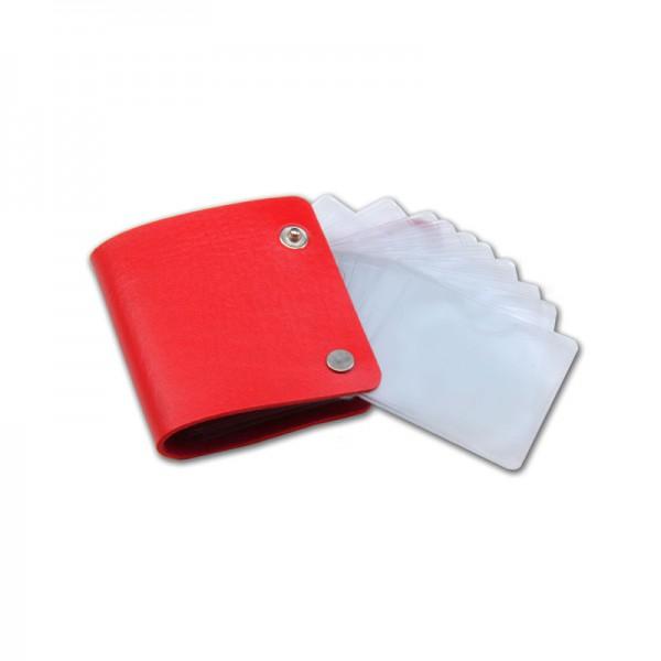 Stamping Schablone Tasche - Rot