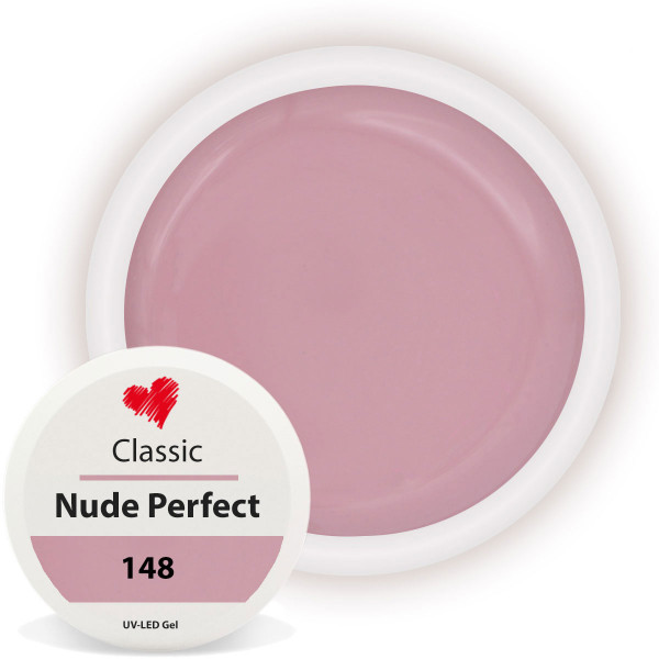 Nude Perfect Farbgel Classic für Natürliche Nägel