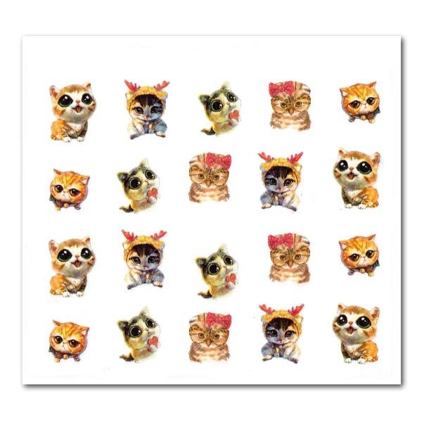 Nailart Tattoo Katze 7