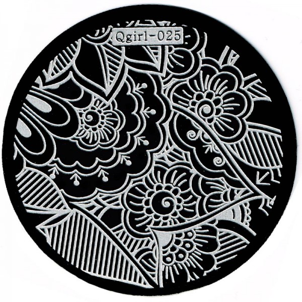 Stamping Schablone Qgirl-025