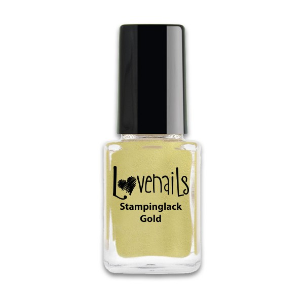 Lovenails Stamping Lack Gold 12ml