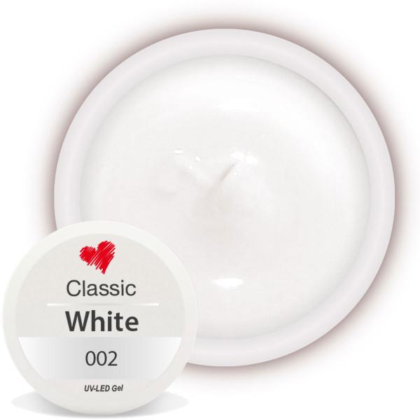 Classic Farbgel 002 White 5ml