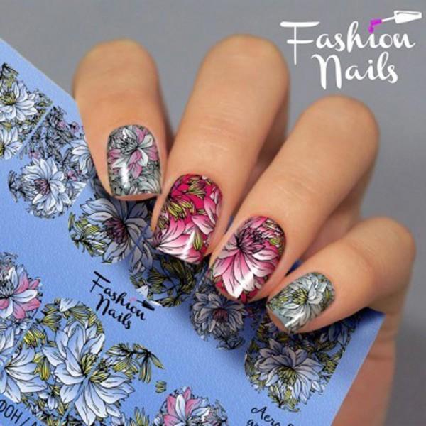 Airbrush Nail Slider 28