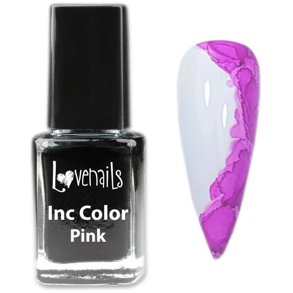 Inc Nailart Color Pink 12ml