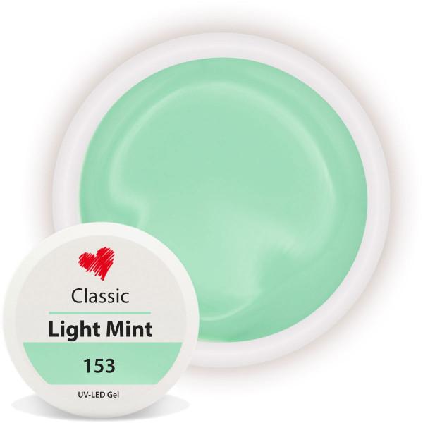 Classic Farbgel Light Mint Nailart