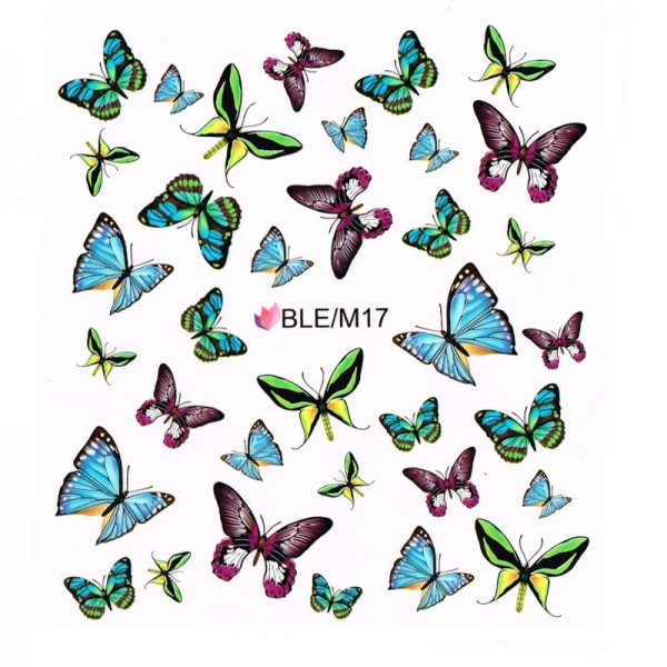 Nailart Tattoo Schmetterling Nr. 2
